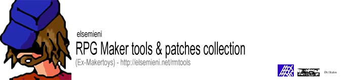 elsemieni RPG Maker tools and patches collection